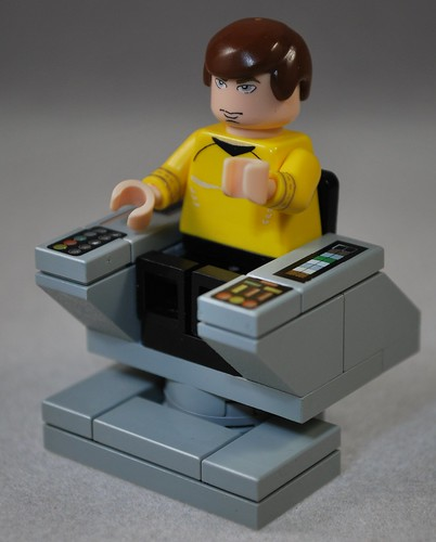 Captain Kirk custom lego minifig