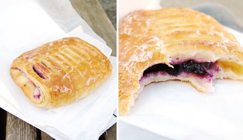 Yasukochi Sweet Shop Blueberry Turnover