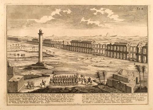 010- El gran acueducto de Cartago-Entwurf einer historischen Architektur 1721- © Universitätsbibliothek Heidelberg