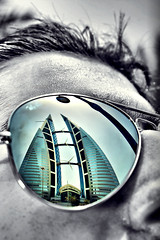 Through My sunglass ( Explored ) (AlAmmari) Tags: world reflection bahrain center sunglass through trade rayban manama  alammari  d450    fotocompetition fotocompetitionbronze fotocompetitionsilver fotocompetitiongold