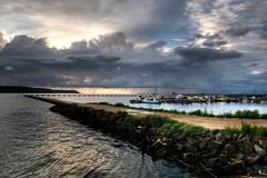 Untitled (valerius25) Tags: sardegna storm rain canon boats dock pond sardinia barche digitalrebel pioggia molo hdr temporale oristano stagno 3xp terralba 400d marcedd valerius25 capofrasca valeriocaddeu