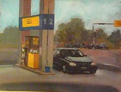Service Station (Chris V++) Tags: auto art station painting acrylic gas canvas transportation sensational