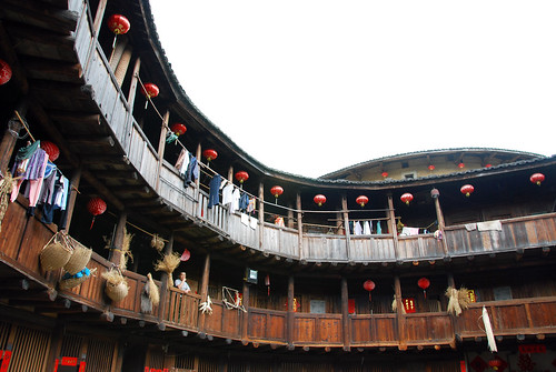 interior of a hakka house