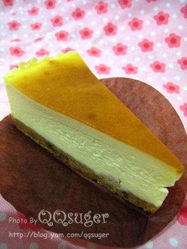 你拍攝的 原味重乳酪蛋糕。