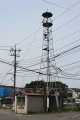 中川の火の見櫓(さいたま市見沼区)