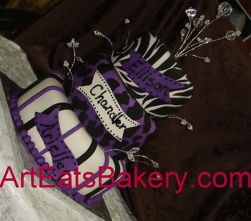 pictures of cakes for birthday. Fondant Birthday Cakes 4