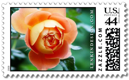 The Heather Lenkin Rose stamp