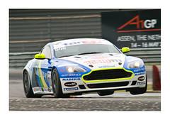 Aston Martin V8 (roberto_blank) Tags: sports racetrack race racecar speed jump nikon martin action nederland thenetherlands racing tango d200 motorsports v8 aston astonmartin sportscar assen 300mmf28 ttassen a1gp astonmartinv8