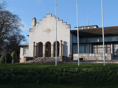 Glen Pavilion, Dunfermline, South Aspect, West Side