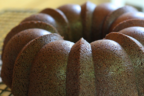 Light Chocolate Bundt Cake