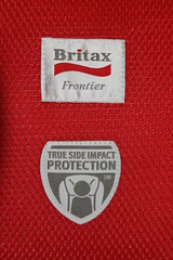 My preferred company for one of my preferred reasons. (torturedmommy) Tags: carseat frontier britax