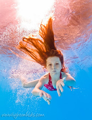 sunny water (david_CD) Tags: girls color water pool kids swim hair children fun jump underwater dive floating wave bubbles actor headshots losangles childish lightroom individuals lightonkids