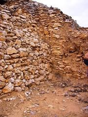 Muralla (ovando) Tags: arqueologa oppidum ibero benicarl yacimiento puigdelanau