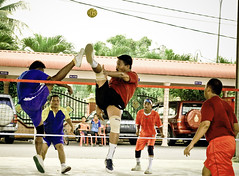 Sepak Takraw (Shown Ryue) Tags: sport air killer blocking takraw sepak libasan