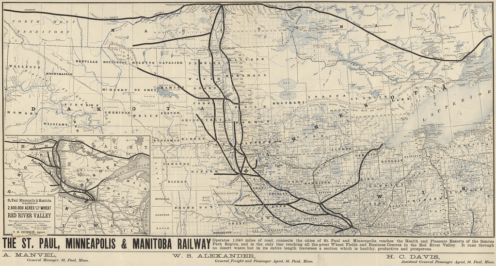 The St. Paul Minneapolis & Manitoba Railway (1880)