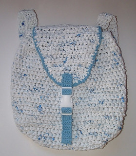 Plarn Crocheted Backpack