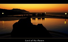 Gne veda...(Bodrum - MULA) (LORD OF THE FLOWERS) Tags: sunset sea holiday reflection pool mine hugs 1855mm xxx gndoan canonrebelxti vosplusbellesphotos somemorekisses