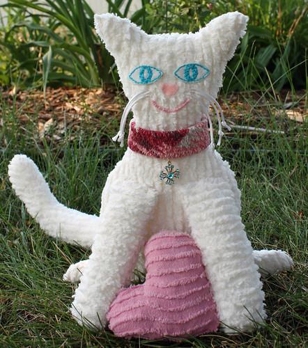 Chenille cat