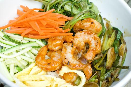 Shrimp Bibimbop 4