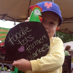 foodietots love farmersmarkets