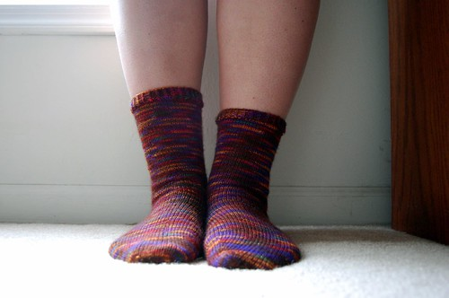 FO: Uneven socks