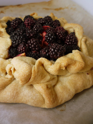 Apple and Blackberry Galette by you.