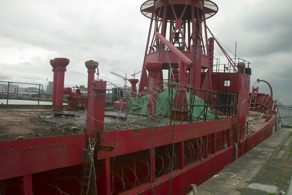 For Sale: The Kittiwake Lightship At The O2