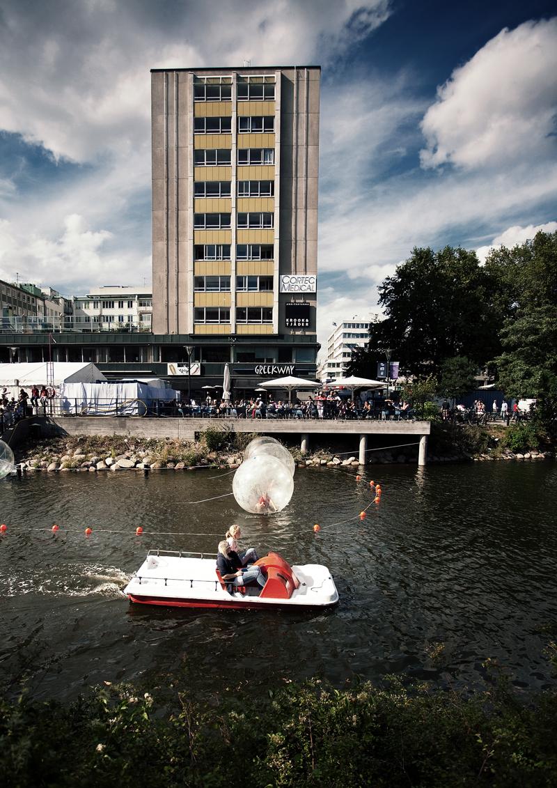 Balls and boat, Malmöfestivalen