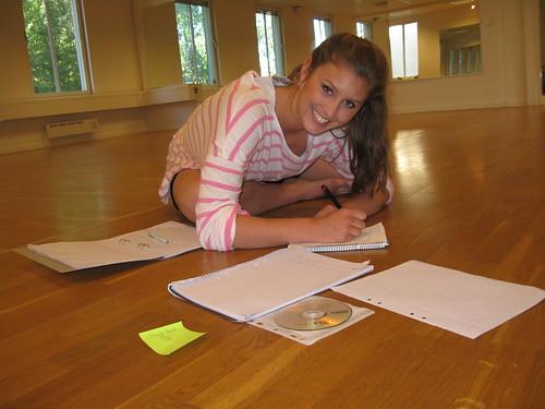 Sarah förbereder HT-09