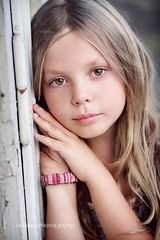 (Artemiaspace/Gordana) Tags: summer portrait color girl children kid eyes child sweet daughter naturallight seven mygirl hourbeforesunset thepowerofnow