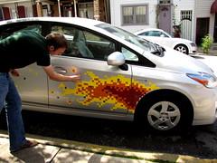 Prius Flames