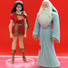mattel justice league unlimited figure: mary batson, the wizard (2009)