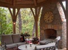 Outdoor Fireplace (Southwest Stone) Tags: chimney building home stone architecture waterfall fireplace landscaping steps cobblestone boulders architect builder flagstone retainingwall naturalstone dreamhome stonebridge customhome commercialbuildings southweststone buildingstone stoneveneer thinstone landscapingstone thinveneer swstone