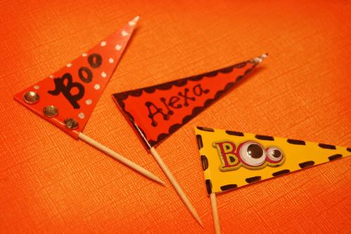 cupcake pennants