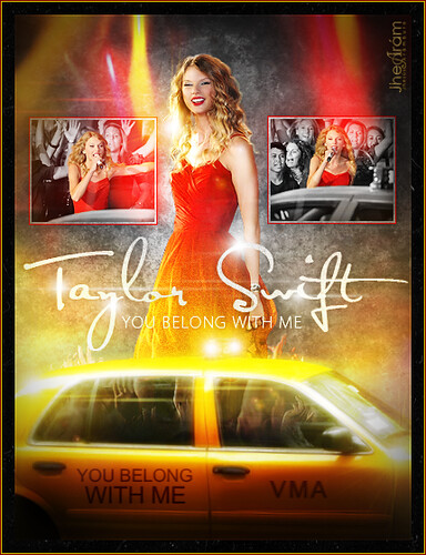 Taylor Swift - You Belong With Me (Live VMA's 2009). [VÉANLO EN GRANDE]