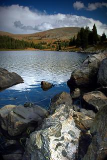 Lyle Lake, Holy Cross Wilderness, Colorado