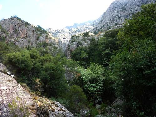 Traversée du ruisseau de Valle Serrata : fin de la reconnaissance...