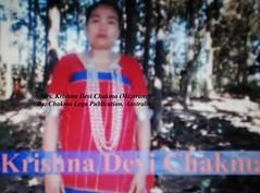 Mrs. Krishna Devi Chakma (Bhante Pragya) Tags: pragya chakma mizoram bhikkhu bhante