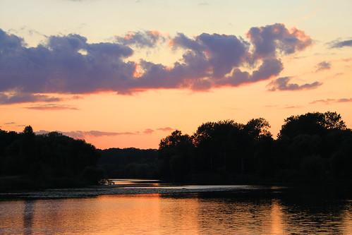 Sunset in Park Oleksandria