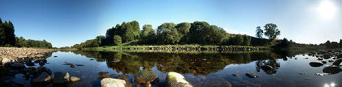 The Dee in late September sun