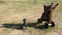 2008-01-27-Stoneleigh-2007-22-07-Baby Buggies (russellstreet) Tags: newzealand sculpture auckland nzl manukau greertwiss aucklandbotanicalgardens babybuggies sculpturesinthegarden2007 stoneleighsculpturesinthegarden2007