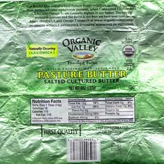 Organic Valley Butter