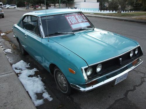 Toyota Corona Mark II Coupe.