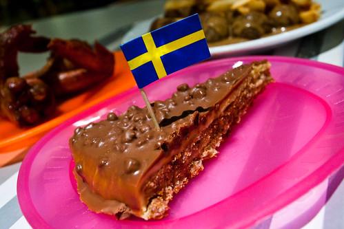 Almond Daim Cake