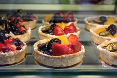 Le Tart (Jadydangel) Tags: newyorkcity food fruit french dessert strawberry berries blackberry sweet rich peach blueberry foodporn bakery pastry custard tart pastisserie hbs flaky nyccuisine creamy currant seriouseats notexplored jadydangel happybokehsunday afoodiestourofnyc incrayahble