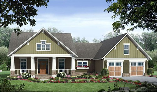 Craftsman Style House Design | Bhouse
