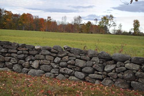 Rock Wall at Shaker Village