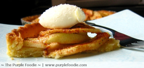 Apple Tart with Mascarpone Cheese