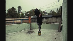 La Azotea (claudia.susana) Tags: roof music motion silly rooftop strange hat mexico video movement mexicocity df dancing cousins dream musica animation sombrero azotea bailando stopmotion primas distritofederal raras anashakti claudiasusana chacoteando