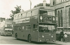 London Transport .  DMS18 EGP18J  .  Tottenham  . 17th-August-1979 (AndrewHA's) Tags: bus tottenham parkroyal londonbus londontransport route259 daimlerfleetline crg6 egp18j dms18